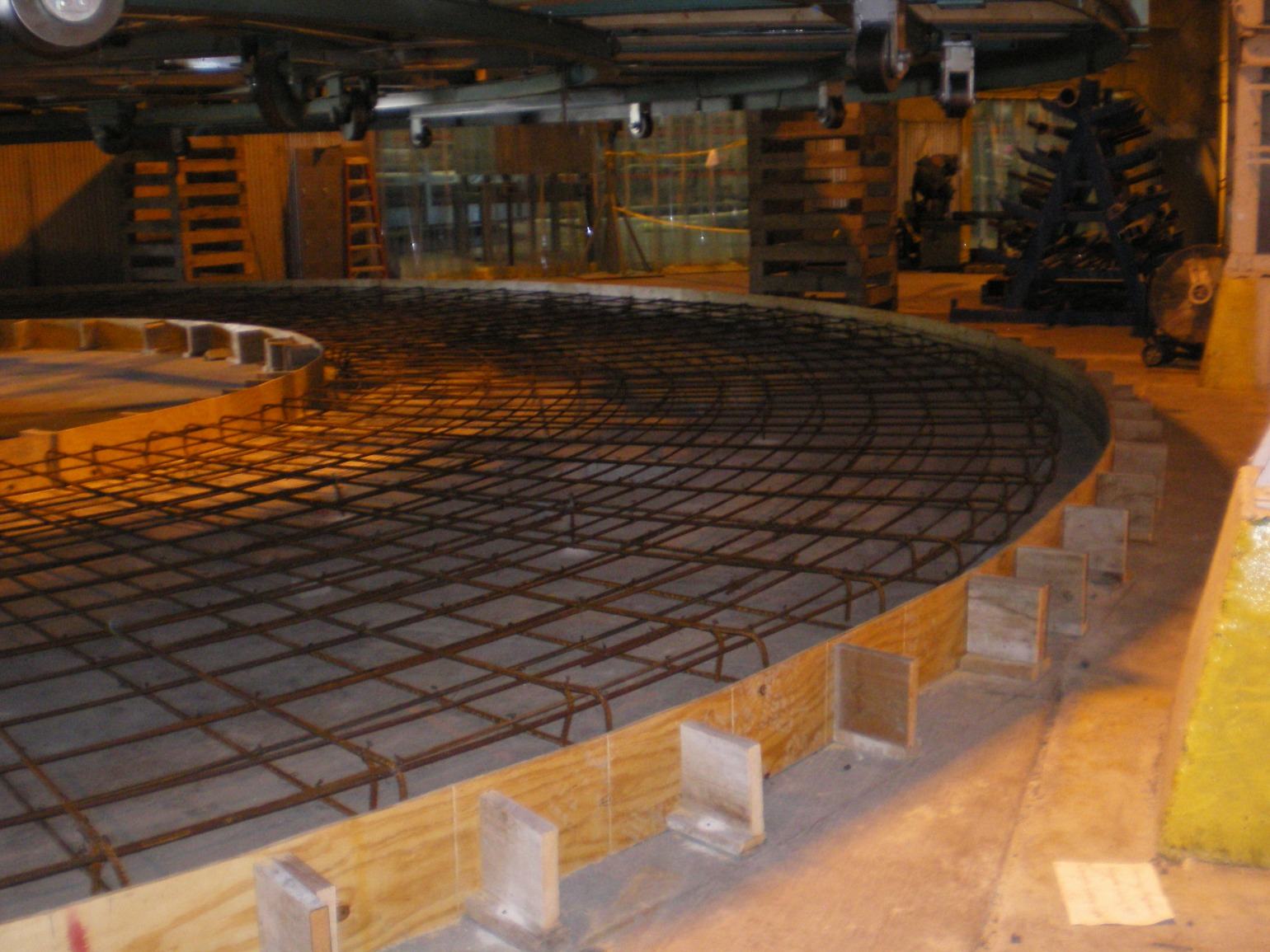 DeepFlex – Carousel Equipment Base, Manitowoc WI | Other Projects Portfolio | A.C.E. Building Service, Manitowoc Wisconsin