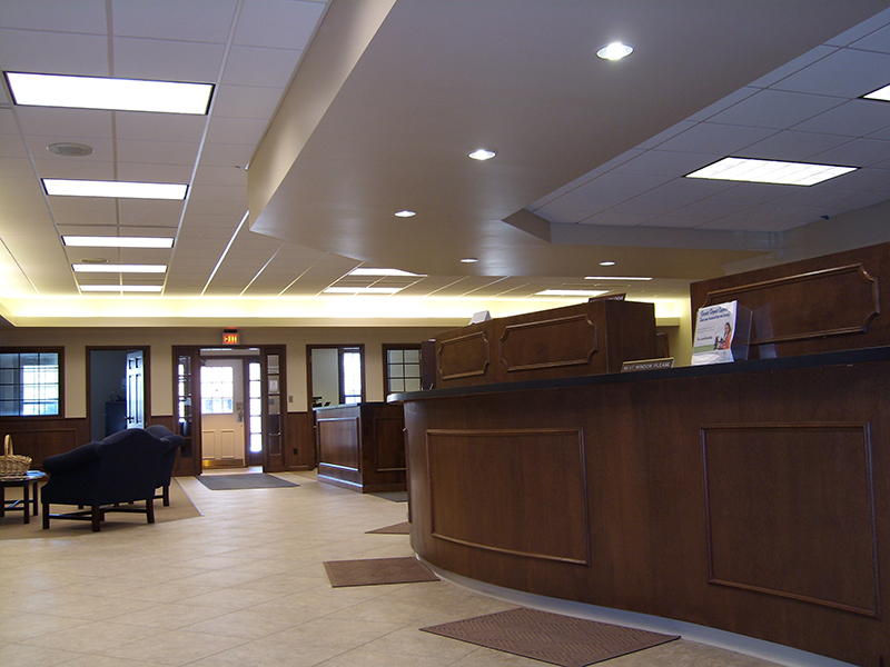 Denmark State Bank, Denmark WI | Renovations, Expansions | A.C.E. Building Service, Manitowoc Wisconsin