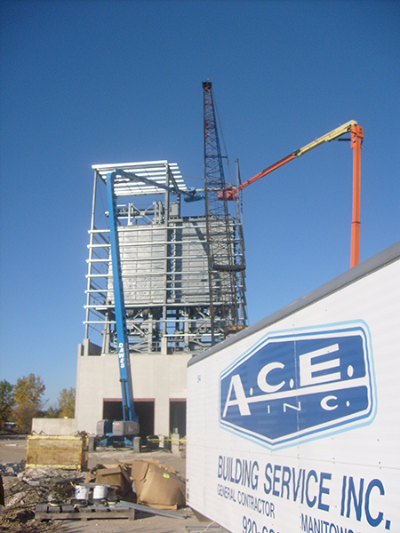 Spancrete, Valders WI | Industrial and Manufacturing | A.C.E. Building Service, Manitowoc Wisconsin