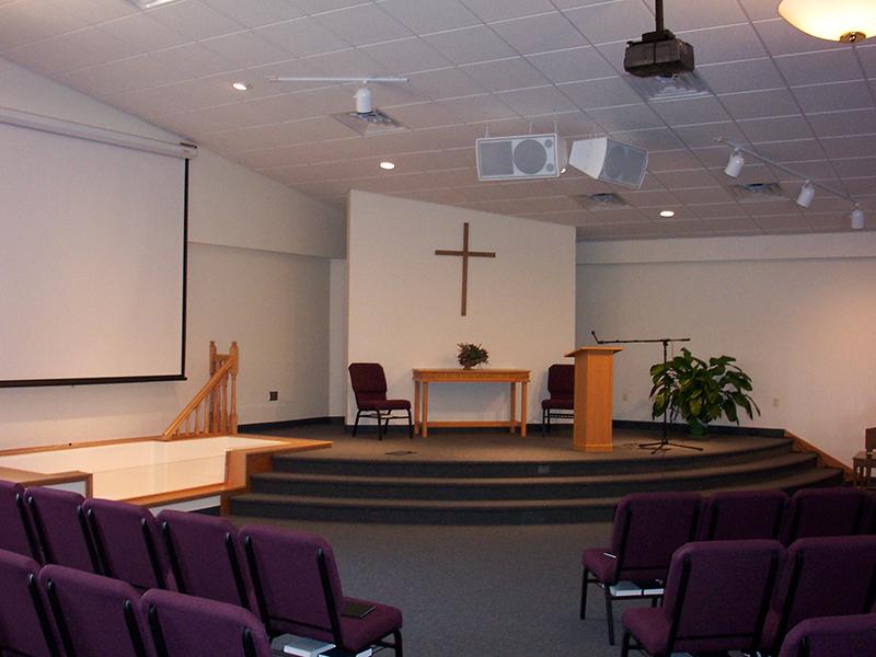 Trinity Alliance Church Interior, Manitowoc WI | Religious Portfolio | A.C.E. Building Service, Manitowoc Wisconsin