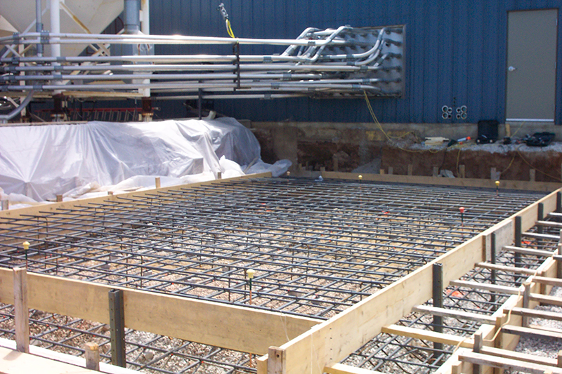 Spartech Silo Base, Sheboygan Falls WI | Other Projects Portfolio | A.C.E. Building Service, Manitowoc Wisconsin