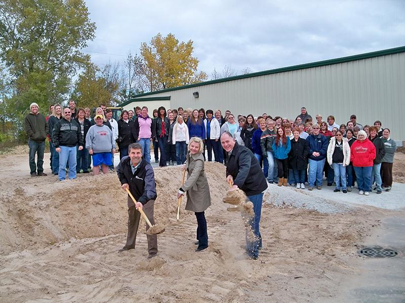 The Cawley Company Groundbreaking | A.C.E. Building Service portfolio, Manitowoc Wisconsin